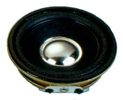 50 mm, Round Frame, 1.0 W, 8 Ohm, Neodymium Magnet, Paper Cone, High Output Power Speaker