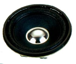 57 mm, Round Frame, 1.0 W, 8 Ohm, Neodymium Magnet, Paper Cone, High Output Power Speaker