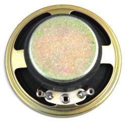 50 mm, Round Frame, 0.25 W, 8 Ohm, Ferrite Magnet, Paper Cone Speaker