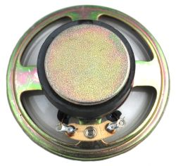 57 mm, Round Frame, 0.25 W, 8 Ohm, Ferrite Magnet, Mylar Cone Speaker