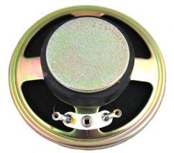 57 mm, Round Frame, 0.25 W, 8 Ohm, Ferrite Magnet, Paper Cone Speaker