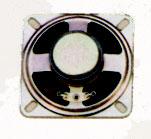 66 mm x 66 mm, Square Frame, 0.5 W, 8 Ohm, Ferrite Magnet, Paper Cone Speaker