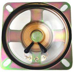 66 mm x 66 mm, Square Frame, 0.5 W, 8 Oh, Ferrite Magnet, Mylar Cone Speaker