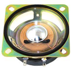 66 mm x 66 mm, Square Frame, 4.0 W, 8 Ohm, Ferrite Magnet, Mylar Cone Speaker