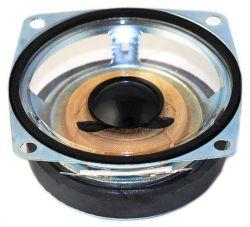 66 mm x 66 mm, Square Frame, 10.0 W, 8 Ohm, Ferrite Magnet, Mylar Cone Speaker