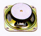 87 mm x 87 mm, Square Frame, 12.0 W, 8 Ohm, Ferrite Magnet, Mylar Cone Speaker