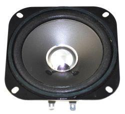 102.4 mm x 102.4 mm, Square Frame, 6.0 W, 8 Ohm, Ferrite Magnet, Paper Cone Speaker