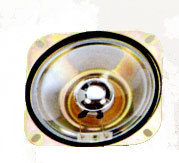 102.4 mm x 102.4 mm, Square Frame, 6.0 W, 8 Ohm, Ferrite Magnet, Mylar Cone Speaker