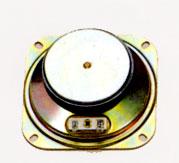 102.4 mm x 102.4 mm, Square Frame, 15.0 W, 8 Ohm, Ferrite Magnet, Mylar Cone Speaker