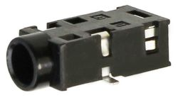 3.5 mm, Right Angle, Stereo Jack - Surface Mount (SMT)