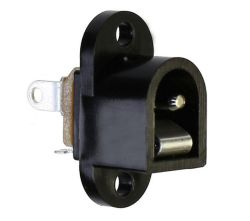 2.0 mm Center Pin, 0.5 A, Vertical, Panel Mount, DC Power Jack