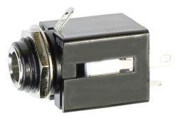 6.3 mm, Vertical, Stereo Jack - Panel Mount