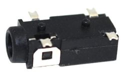 2.5 mm, Right Angle, Stereo Jack - Surface Mount (SMT)