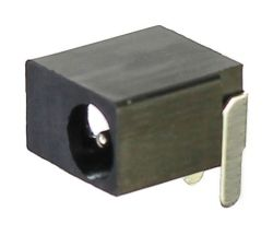 1.0 mm Center Pin, 0.5 A, Right Angle, PCB Mount, DC Power Jack
