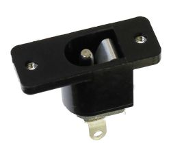 2.35 mm Center Pin, 1.0 A, Vertical, Panel Mount (Screws), DC Power Jack