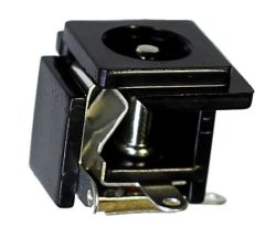 2.5 mm Center Pin, 1.0 A, Vertical, Panel Mount, DC Power Jack