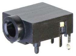 3.5 mm, Right Angle, Stereo Jack - PCB Mount