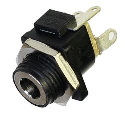1.65 mm Center Pin, 2.0 A, Vertical, Panel Mount, DC Power Jack