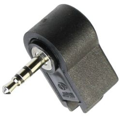 2.5 mm, Right Angle, Stereo Plug