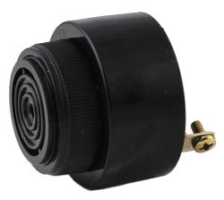 43 mm Piezo Audio Indicator, 10~48 VDC, 80 dB, 2.9 kHz, Continuous, Screw Terminals