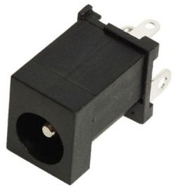 2.5 mm Center Pin, 5.0 A, Vertical, PCB Mount, DC Power Jack