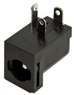 2.0 mm Center Pin, 5.0 A, Right Angle, PCB Mount, Locking DC Power Jack