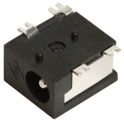 1.3 mm Center Pin, 5.0 A, Right Angle, Surface Mount (SMT), DC Power Jack