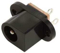 2.0 mm Center Pin, 5.0 A, Vertical, Panel Mount, DC Power Jack