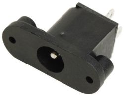 2.5 mm Center Pin, 5.0 A, Vertical, Panel Mount, DC Power Jack