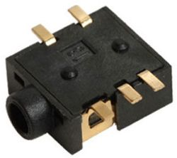 2.5 mm, Right Angle, Mono/Stereo Jack - Surface Mount (SMT)