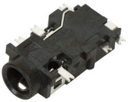 3.5 mm, Right Angle, Mono/Stereo Jack - Surface Mount (SMT)