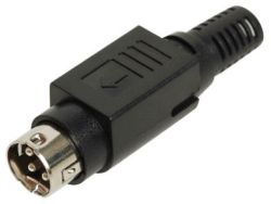 Standard DIN Plug, 3 or 4 Contacts 1