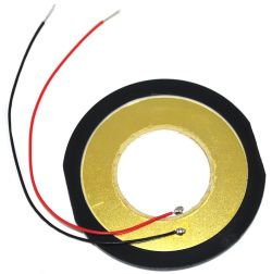 48 mm Piezo Buzzer Element w/Lead Wires 1