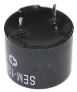 12 mm Magnetic Sound Transducer, 3~8 Vo-p, 85 dBA, 2