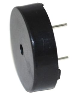 24 mm Piezo Audio Transducer, 3~30 Vp-p, 92 dBA, 4.0 kHz, PCB Pins