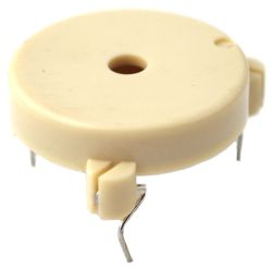 28.6 mm Piezo Audio Transducer, 15~30 Vp-p, 90 dB, 3.0 kHz, PCB Pins