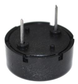 17 mm Piezo Audio Transducer, 30 Vp-p max., 85 dB, 4.0 kHz, PCB Pins