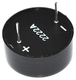 23 mm Piezo Audio Indicator, 3~20 VDC, 82 dBA, 3.2 kHz, Continuous, PCB Pins